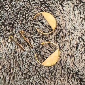 Francesca's earrings 2 pair